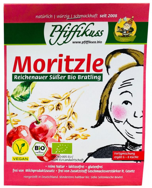 Pfiffikuss Süßer BIO Bratling Moritzle
