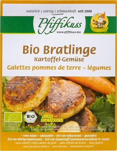 Pfiffikuss BIO Bratling Kartoffel Gemüse