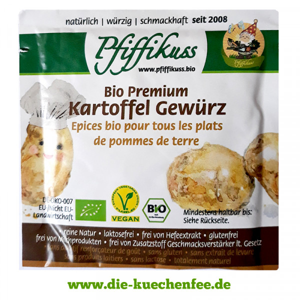 Pfiffikuss BIO Kartoffelgewürz - Gratisprobe