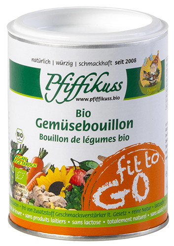 Pfiffikuss Bio Gemüsebouillon fit to go