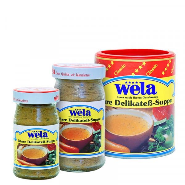 Wela klare Delikateß Suppe classic