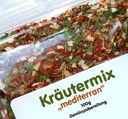 Kräutermix mediterran